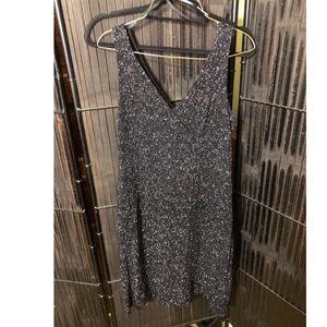 Black Glitter Dress Size L City Triangles